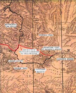 Wyoming State Historic Preservation Office, The Bridger Trail ...